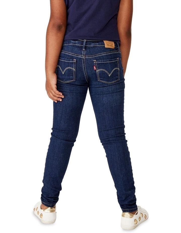 Girls 710 Denim Super Skinny Fit Jean image 3