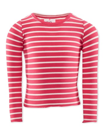 Pink & White Stripe colour