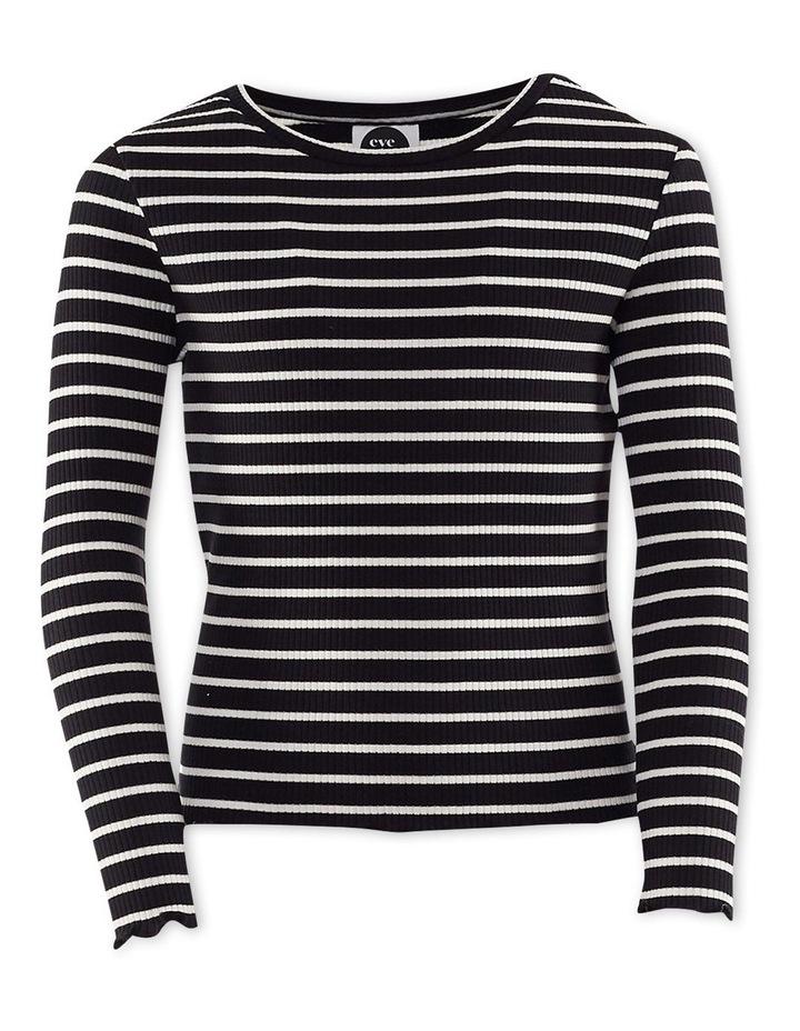 Mickey Long Sleeve T-Shirt Black/White image 1