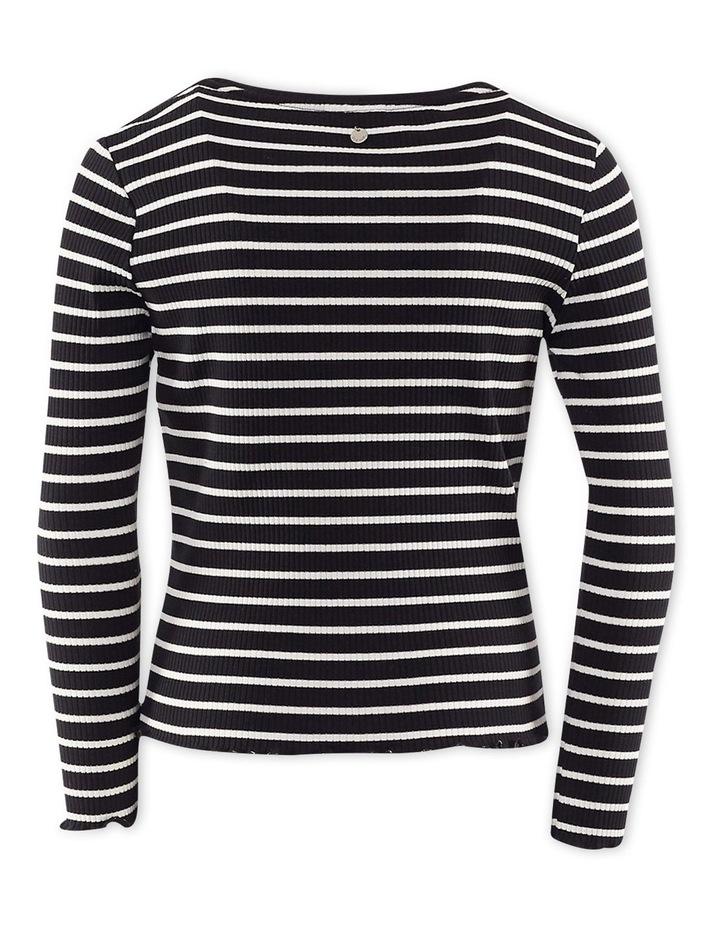 Mickey Long Sleeve T-Shirt Black/White image 2