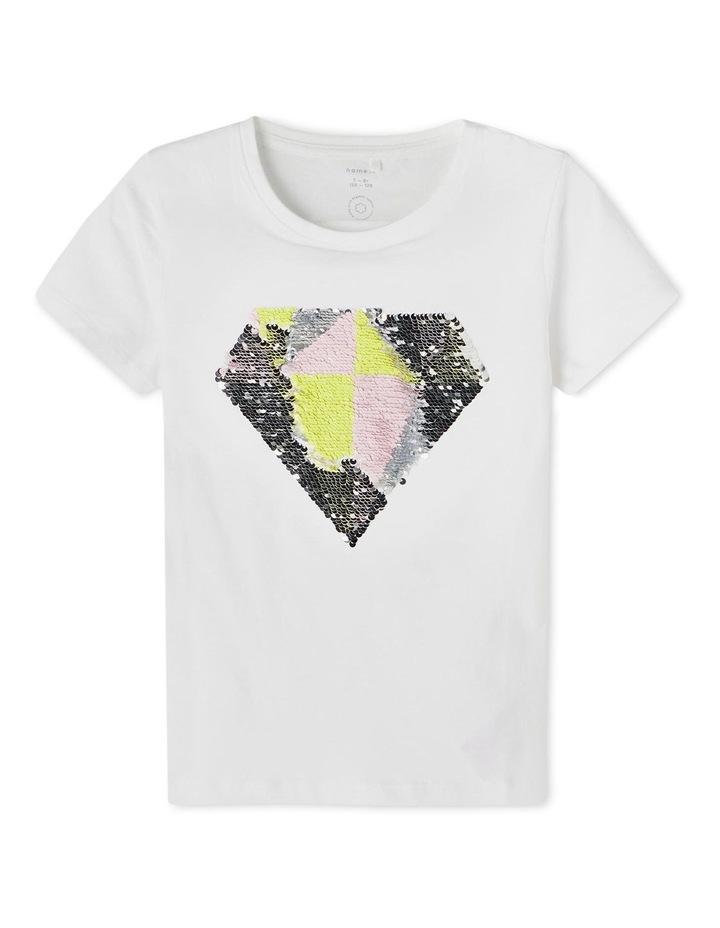 Hapastar Crew Neck T-Shirt White image 1