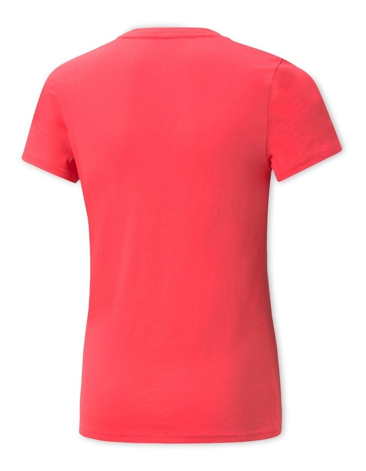 Power Logo Crew Neck T-Shirt Pink image 2