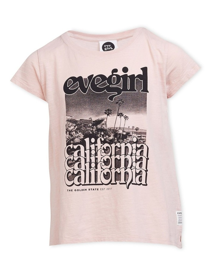Golden State T-Shirt Dusty Pink image 1