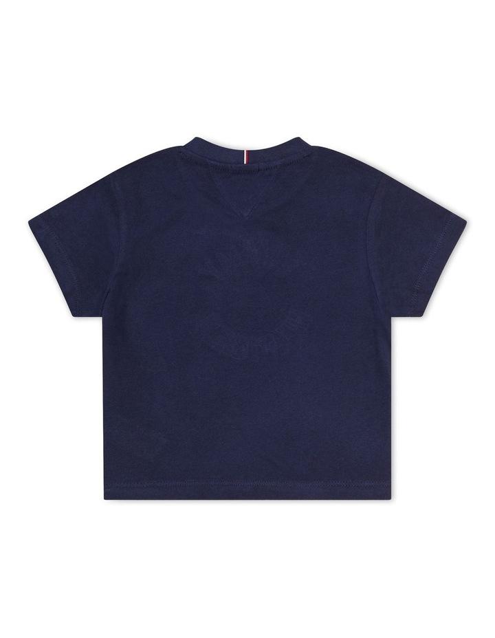Sequin T-Shirt Navy image 2
