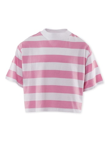 CANDY PINK & WHITE S colour