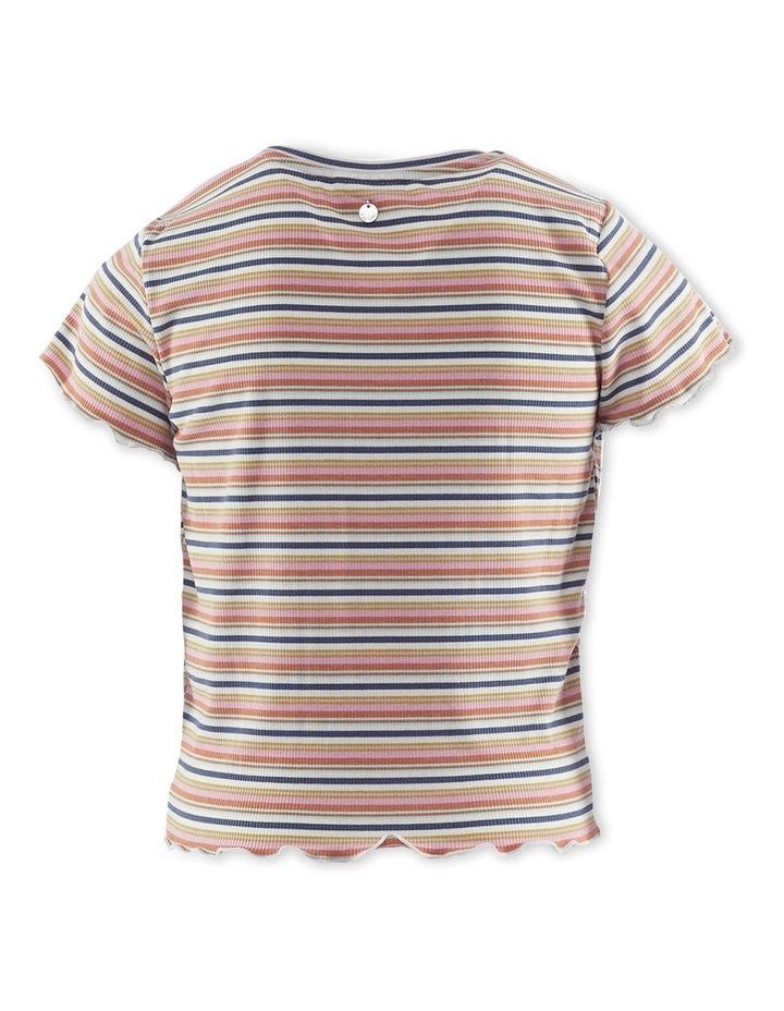 Georgie Rib T-Shirt Pink image 2
