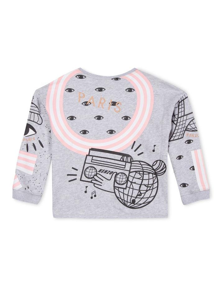 Girls Crew Neck Printed Sweat Shirt - Eda image 2