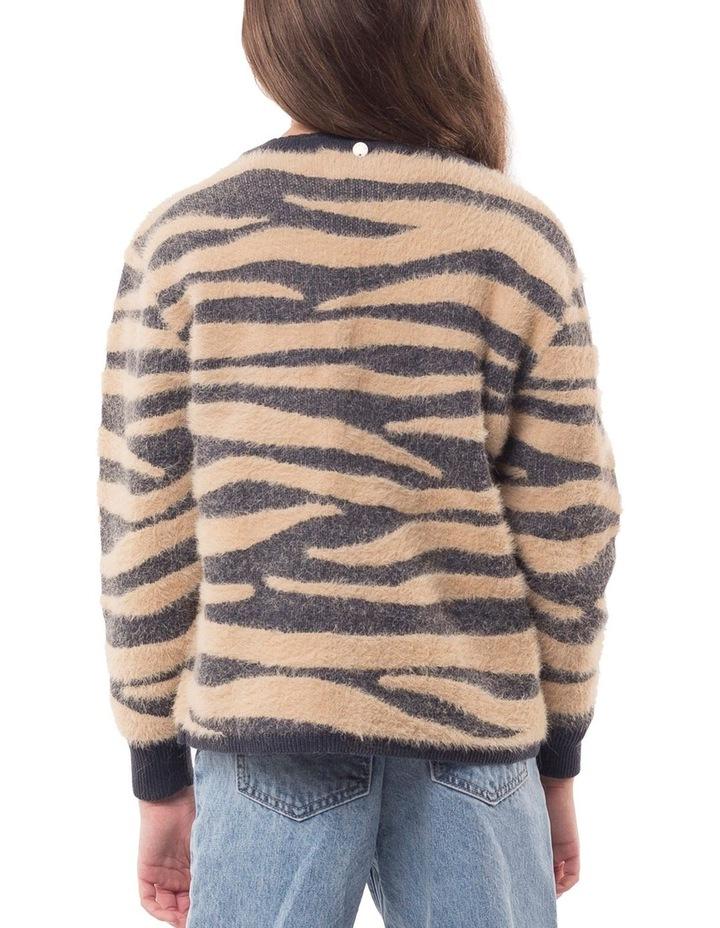 Zebra Fluffy Knit image 2