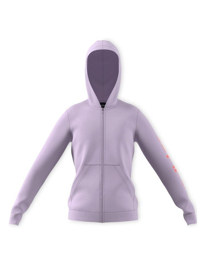 Youth Girls Essentials Linear Full Zip Hoodie image 1