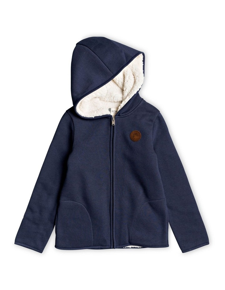 Chill Rock - Sherpa-Lined Zip-Up Hoodie image 1