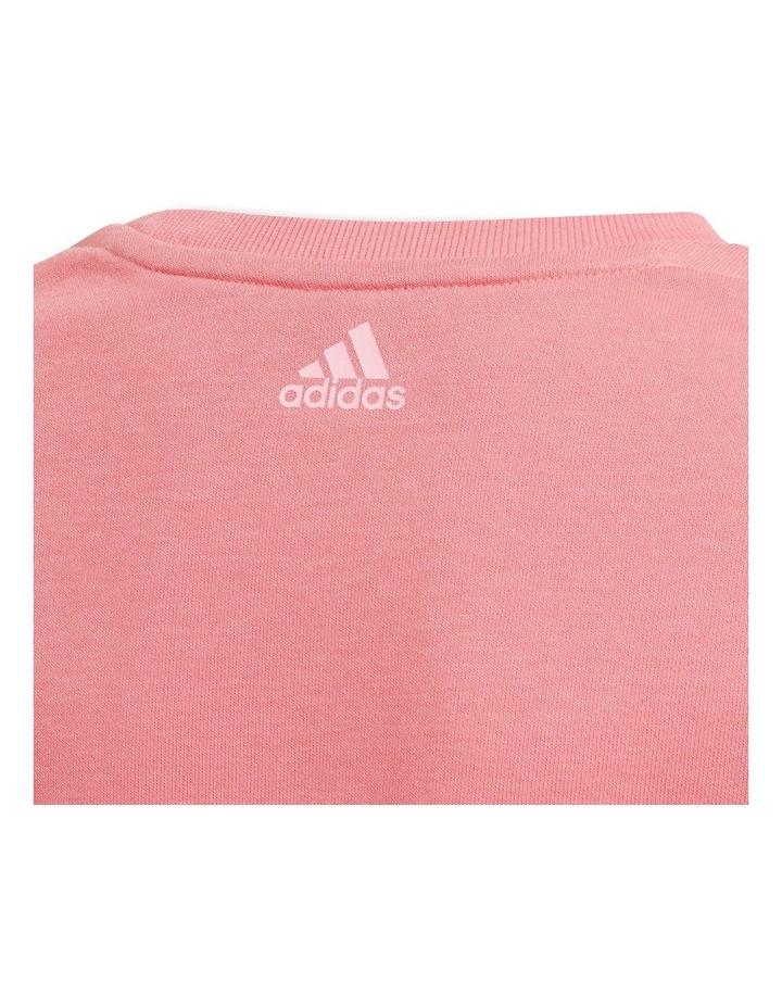 Girls Essentials Pink Logo Sweatshirt image 4