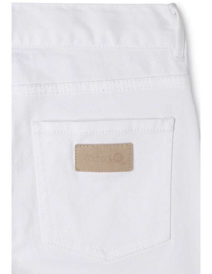 Spray-On Ripped White Out Jeans image 2
