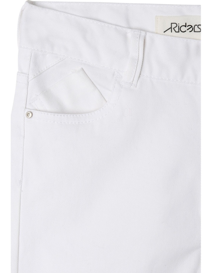 Spray-On Ripped White Out Jeans image 3