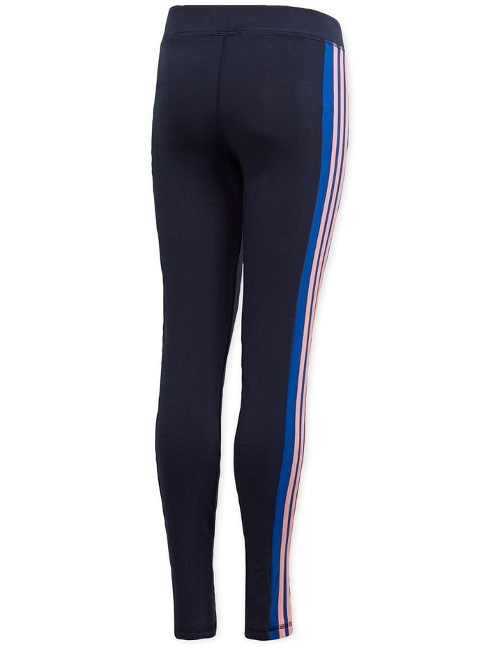 Young Girls 3 Stripes Tight image 3
