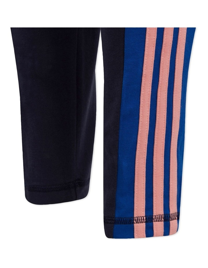Young Girls 3 Stripes Tight image 6