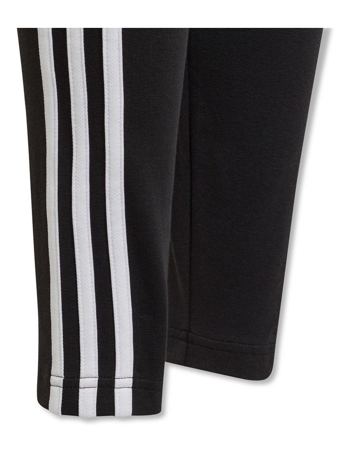 Girls Essentials 3 Stripes Leggings image 3