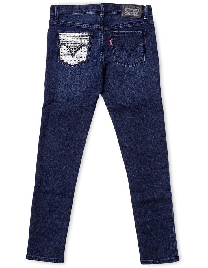 Girls 710 Super Skinny Fit Jeans image 4