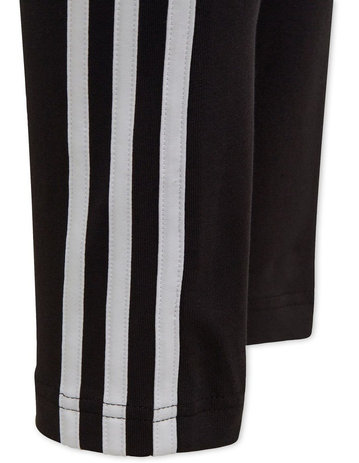3-Stripes Cotton Tights Black image 5