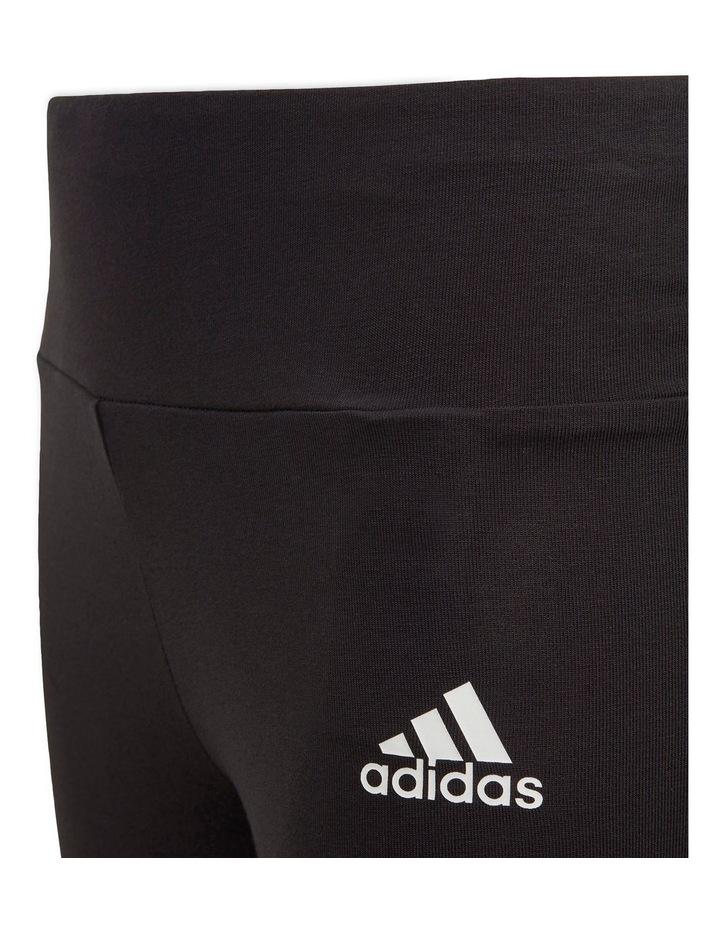 3-Stripes Cotton Tights Black image 6