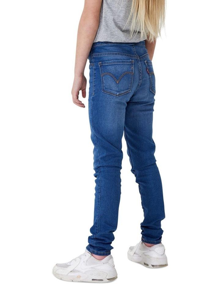 Girls Super Skinny Pull On Denim Jegging image 3