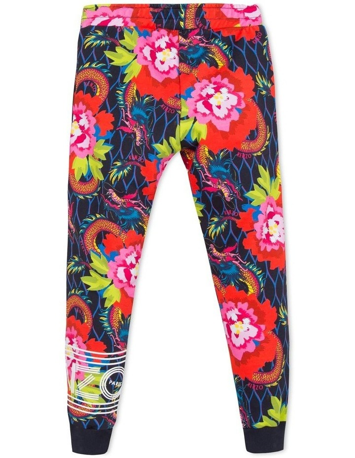 Printed Trackpant With Foil Logo - Jg 16  (Size 8-12) image 2