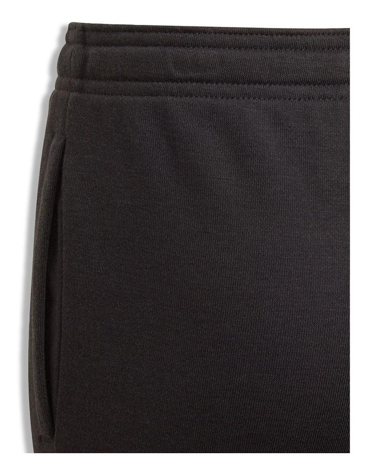 Girls Essentials Black Logo Pants image 3