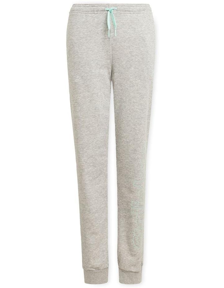 Girls Essentials Logo Pants Grey Marle image 1