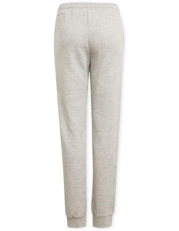 Girls Essentials Logo Pants Grey Marle image 2