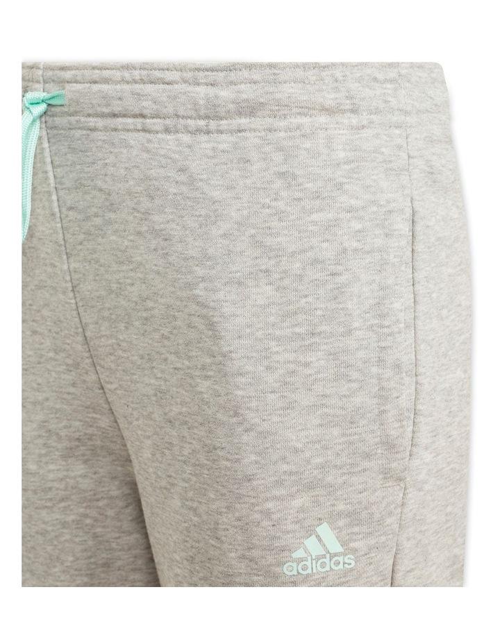 Girls Essentials Logo Pants Grey Marle image 3