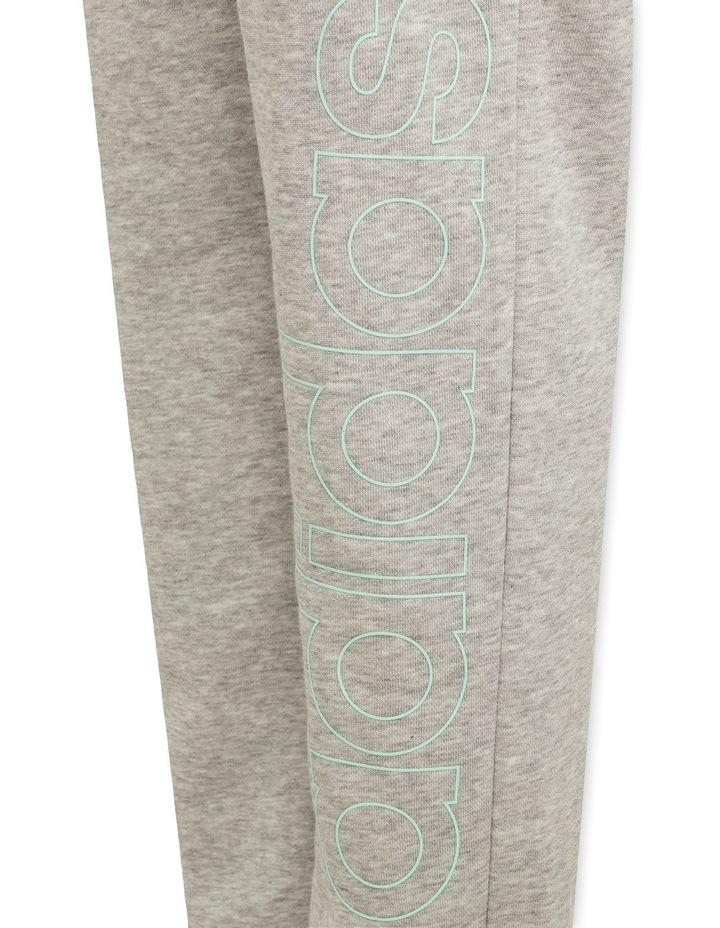 Girls Essentials Logo Pants Grey Marle image 4