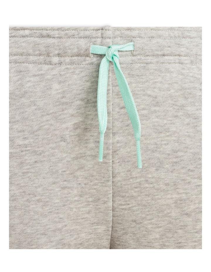 Girls Essentials Logo Pants Grey Marle image 5