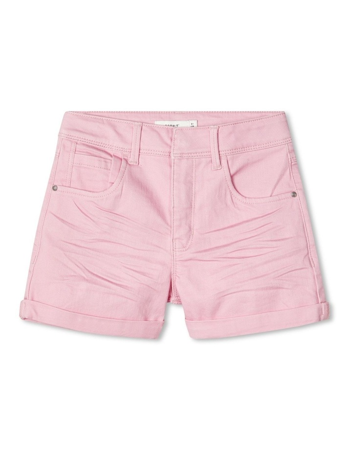 Rose Mom High-Waist Shorts image 1