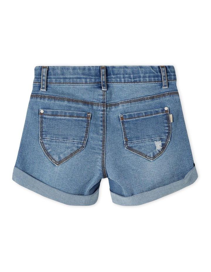 Salli Denim Shorts - Medium Blue Denim image 3
