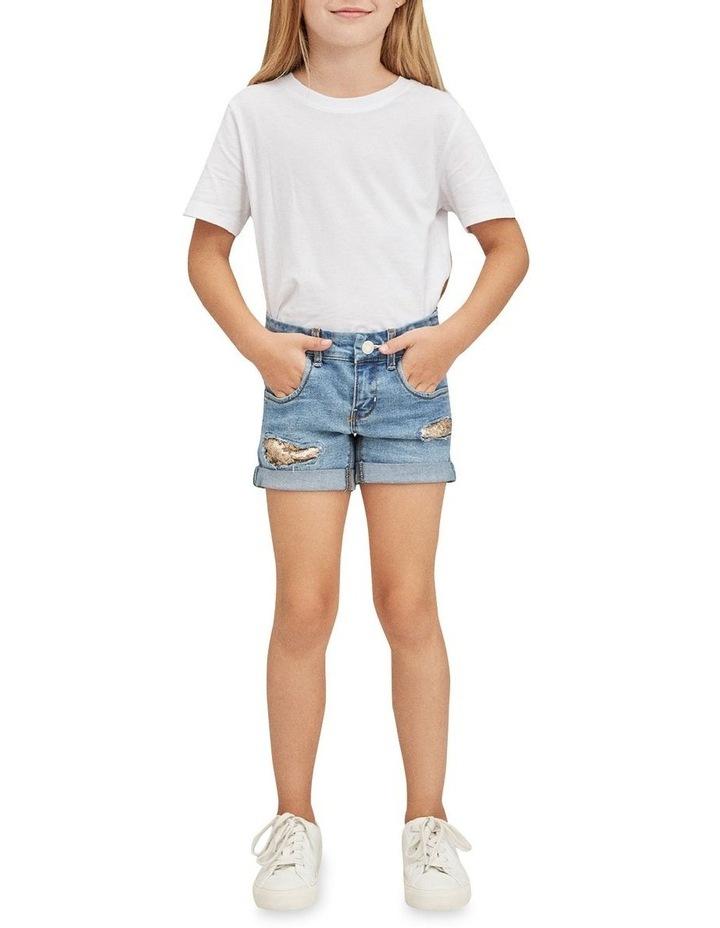 Salli Denim Shorts - Medium Blue Denim image 4
