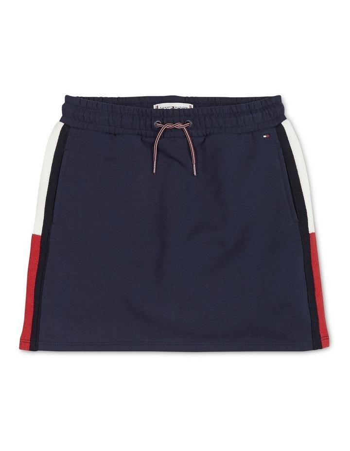 Rib Knit Panel Skirt image 1