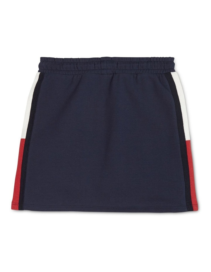 Rib Knit Panel Skirt image 2