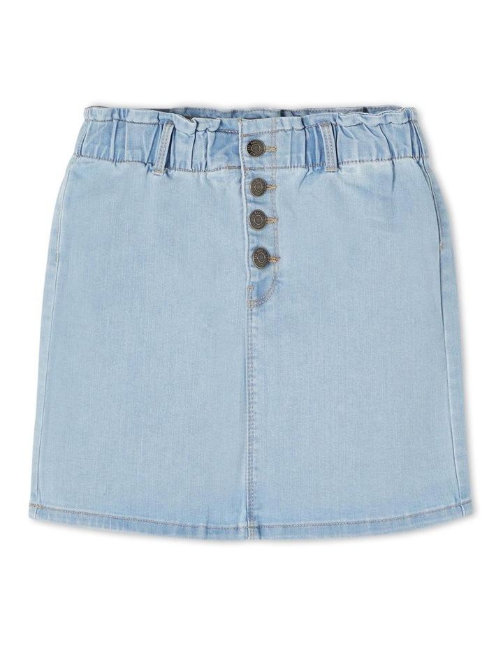 Becky Denim Skirt Light Blue image 1