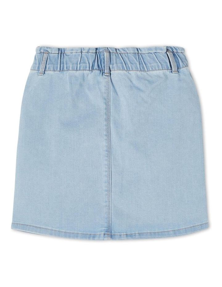 Becky Denim Skirt Light Blue image 2