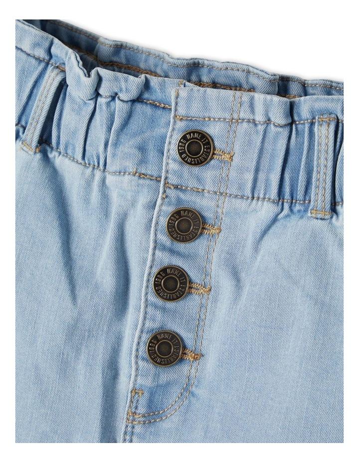 Becky Denim Skirt Light Blue image 3