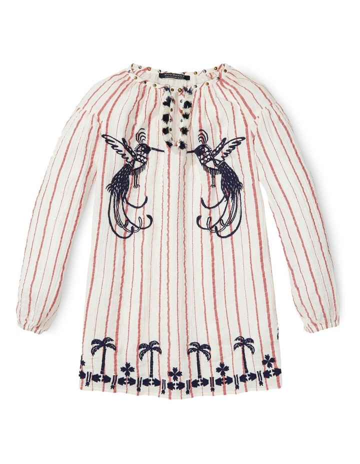 Tunic Dress with Embroideries image 1