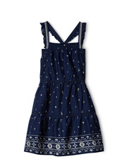 SCOTCH R'BELLE - Dress with Ladder Inserts