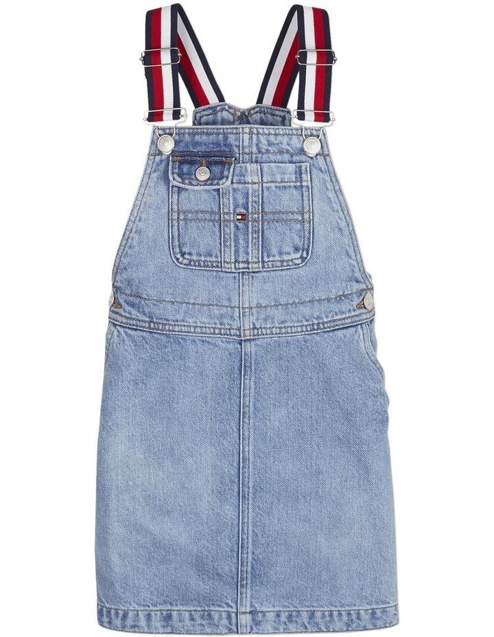 Girls Denim Dungaree Dress image 1