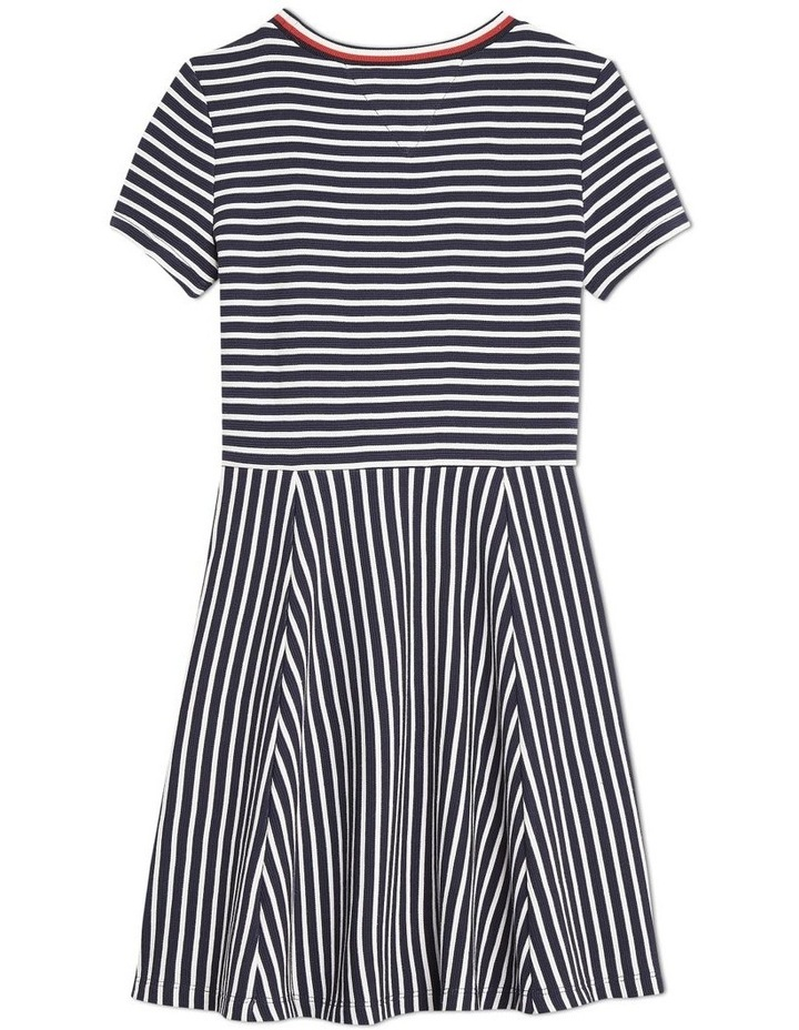 Stripe Skater Dress image 2