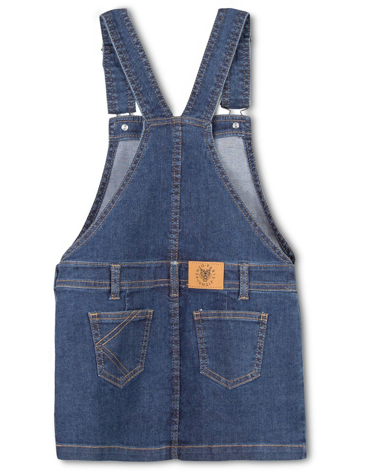 Girls Denim Overall - Elonie image 2