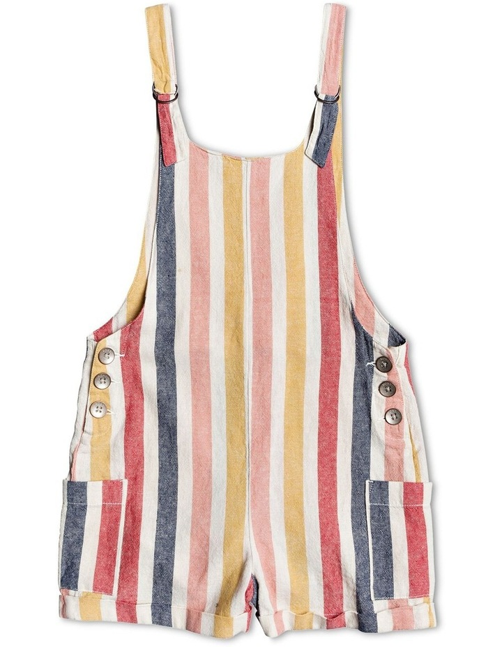 Miss Youth - Linen Dungarees image 1