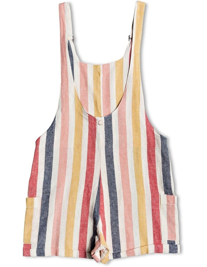 Miss Youth - Linen Dungarees image 2