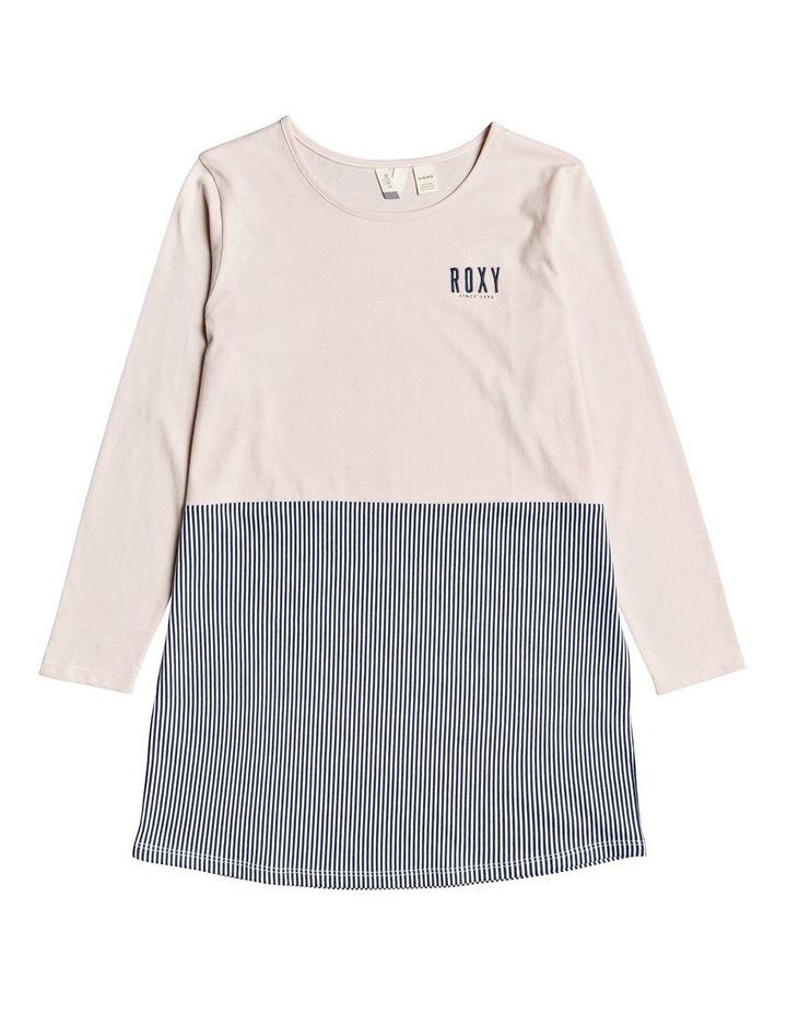 Be Alright Long Sleeve T-Shirt Dress image 1
