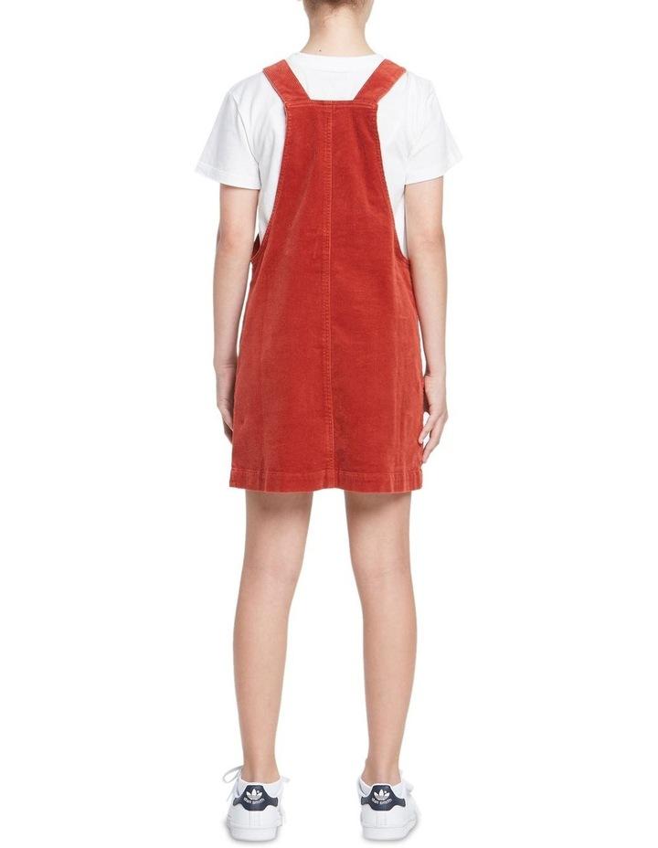 GIRLS CORD DUNGAREE DRESS image 3
