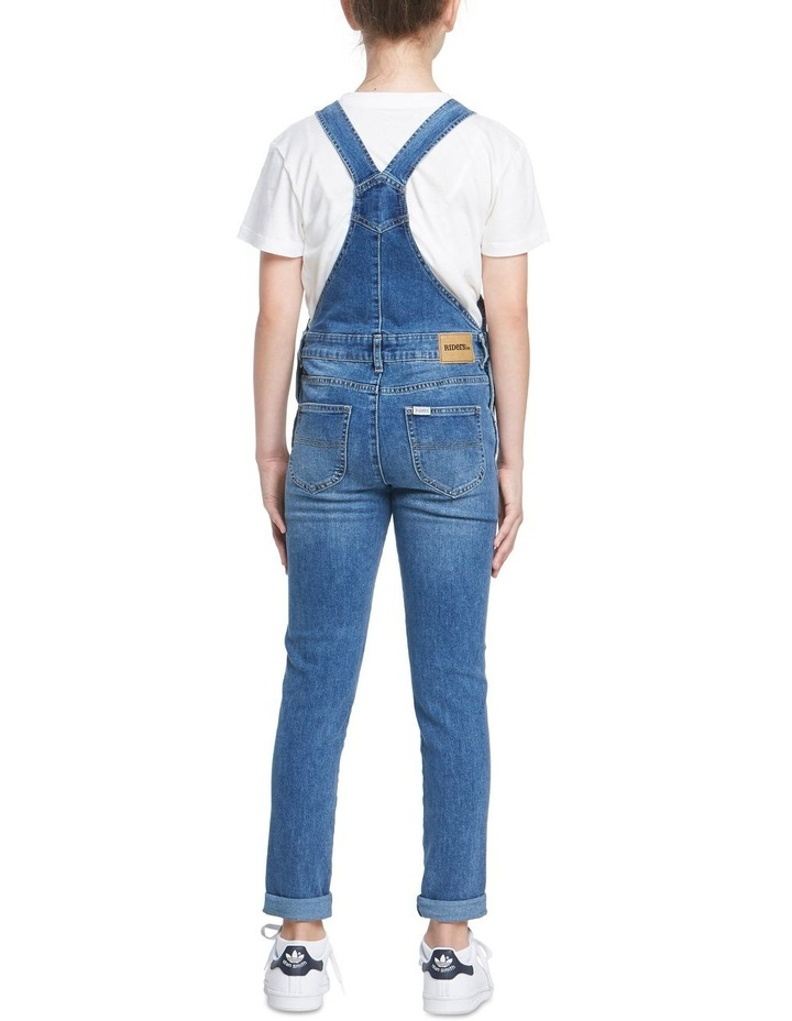 Girls Denim Dungaree image 3