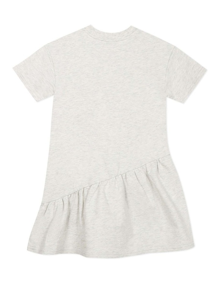 Embroidered Elephant Jersey Dress - Jacinthe (8-12) image 2